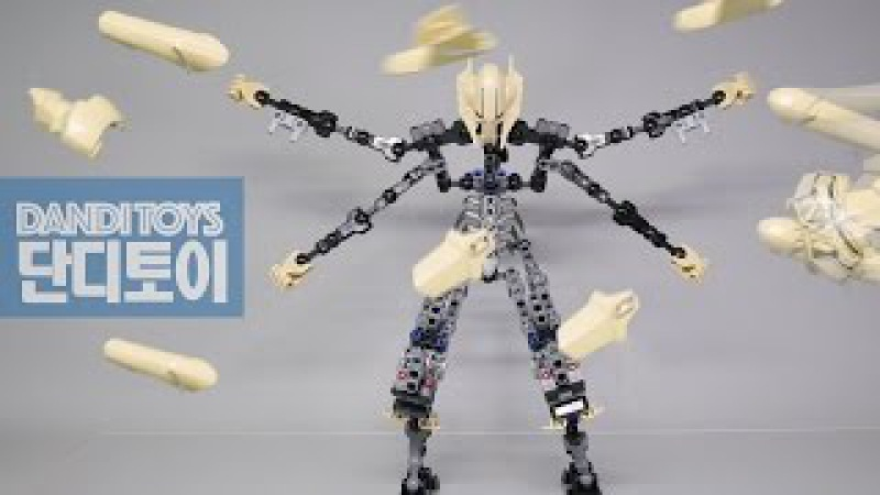 LEGO 75112 General Grievous Build Stopmotion / 레고 그리버스 장군 조립 스톱모션