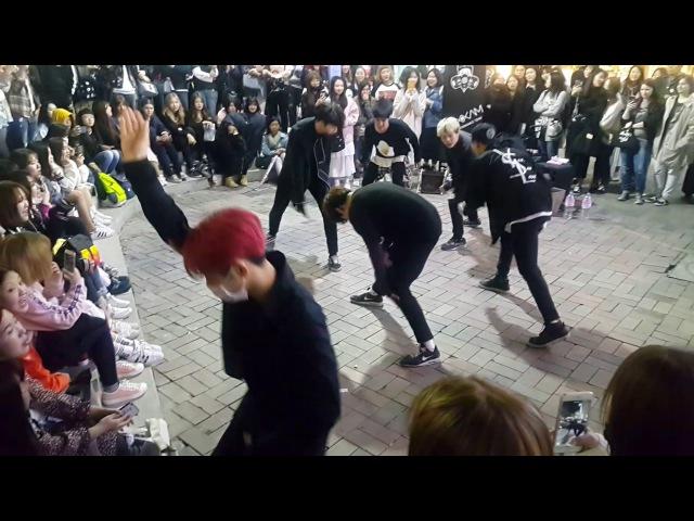 [Maxxam 댄스팀 맥스] ☆Abracadabra☆ 커버안무 홍대댄스버스킹 20170419수 [Korean Hongdae Kpop Dance Busking]