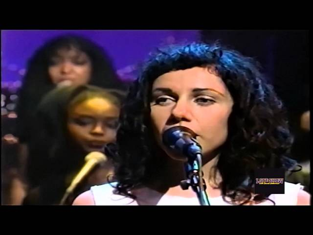 Tricky PJ Harvey - Broken Homes (Live The Late Show D. Letterman)