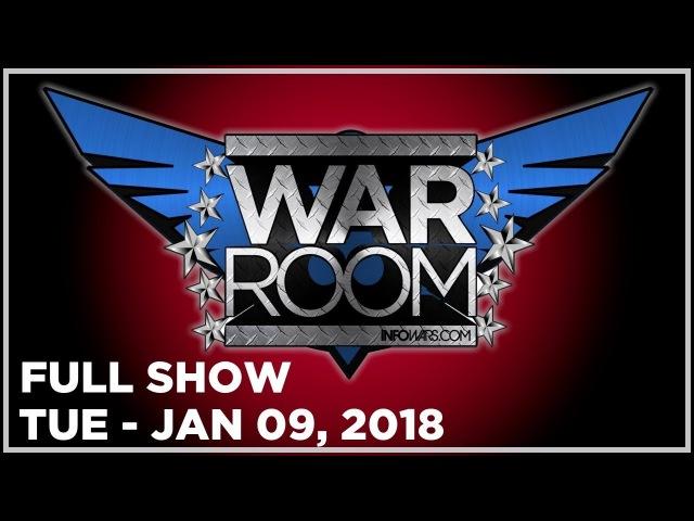 WAR ROOM SHOW (FULL SHOW) Tuesday 1/9/18: News Analysis, Dr. Shiva, Roger Stone, Tyler Nixon