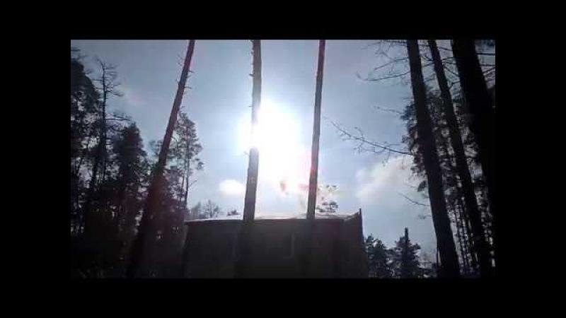 Ирпень и солнце День Чудесный Коттеджи Домик на дереве