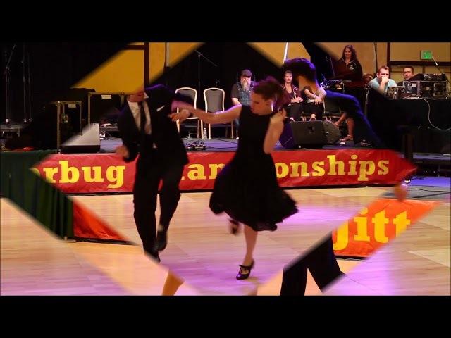 Band ODESSA - Марджанжа. Танцуют Сандра Рёттиг и Штэфан Зауэр