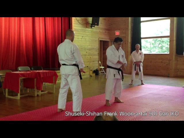 Connection To The Floor Dropping Power | Shuseki Shihan Frank Woon-a-tai 9th Dan IKD