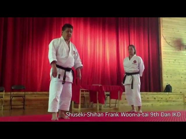 Kara = Empty | No Emotion, Emptiness In Karate | Shuseki Shihan Frank Woon-a-tai 9th Dan IKD