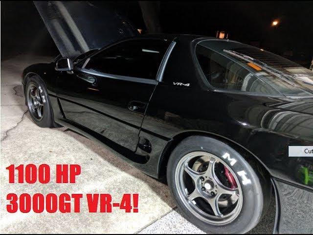 Mitsubishi 3000 GT VR-4 1100 л.с. с салоном и музыкой...
