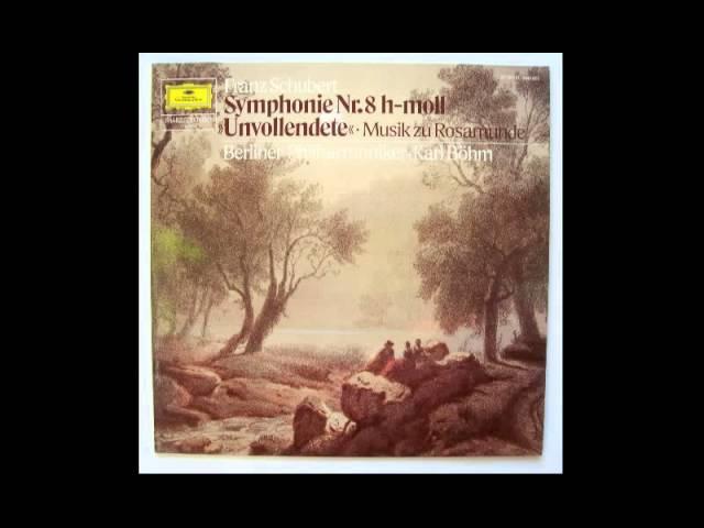Schubert - Symphony No. 8 B minor - 1rst Mvt. - Böhm @ 432 Hz