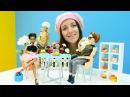 Мультик Барби кукла ПОВАР в Пиццерии 🍕 У Барби НОВАЯ профессия. Видео для дете ...
