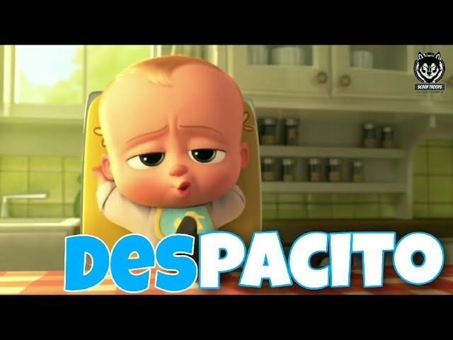 Despacito - Luis Fonsi and Daddy Yankee ft.JB   Animated   Dancing baby   Minions   The Boss Baby  