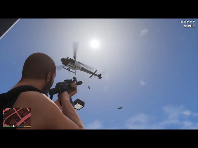 GTA V - Vespucci Beach Police Station Assault Six Star Escape (RDE 3.1.1)
