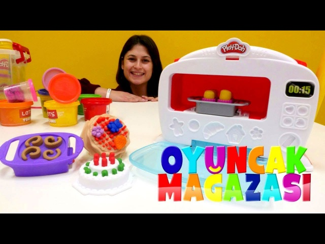 Ayşenin Oyuncak Mağazası. Play-Doh mutfak seti.