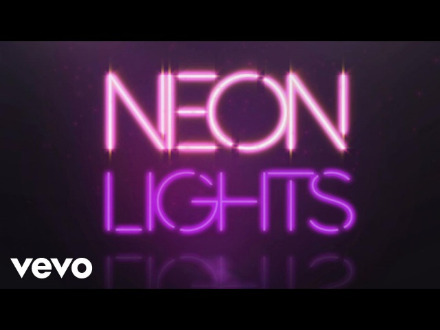 Demi Lovato - Neon Lights (Official Lyric Video)