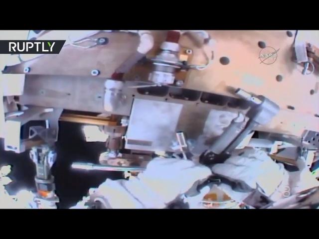 Первый в 2018 году выход в открытый космос: астронавты NASA провели работы по техобслуживанию МКС