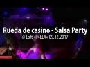 Last 2017 year salsa party in loft P4ELA: rueda de casino @ Loft «P4ELA» 2017.10.14