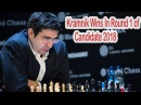 Vladimir Kramnik Beats Alexander Grischuk FIDE World Candidates Tournament 2018