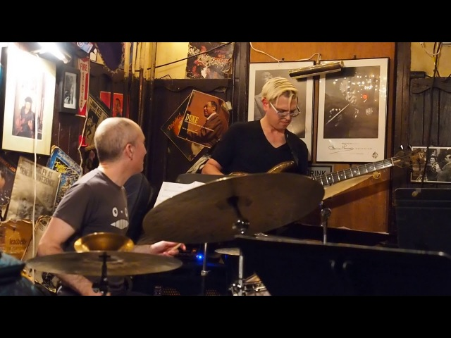 Tim Miller live @ 55 Bar NYC February 18th 2018 Nate Wood, Evan Marien, Santiago Bosch