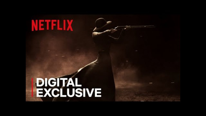 Godless Title Sequence HD Netflix