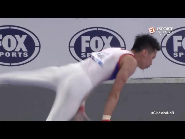 Chih Kai Lee TPE PH EF @ Melbourne 2018 Silver Medal