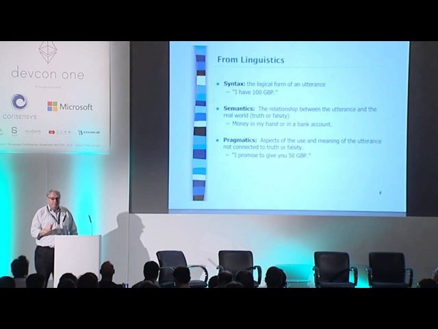 DEVCON1: Formal Semantics for Protocols - Peter McBurney