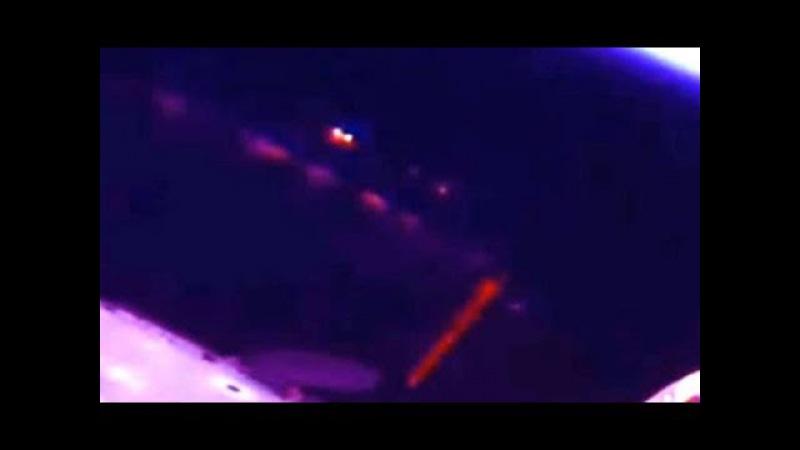 UNDER ATTACK? UFO 'filmed firing laser at International Space Station' in NASA footage