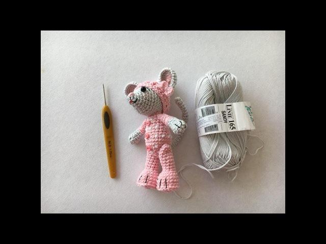 Como tejer cabeza de ratón amigurumis By Petus PRIMERA PARTE