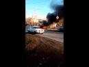Сгорела нива в барабинске