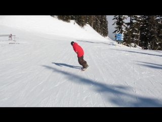 Snowboard Addiction  Buttering (Goofy) - How To High Press - Blunt Slide Goofy