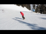 Snowboard Addiction| Buttering (Goofy) - How To High Press - Blunt Slide Goofy