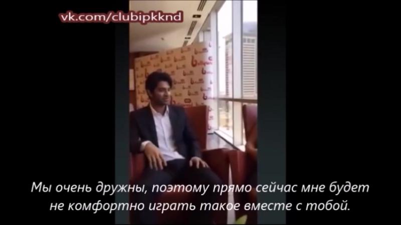 Короткая выдержка из интервью Барун Собти 23.08.2015 года Дубаи с рус. субтитрам