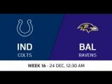 NFL 2017 / W16 / Indianapolis Colts - Baltimore Ravens / CG / EN