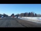 В Ярославской области опрокинулся автобус