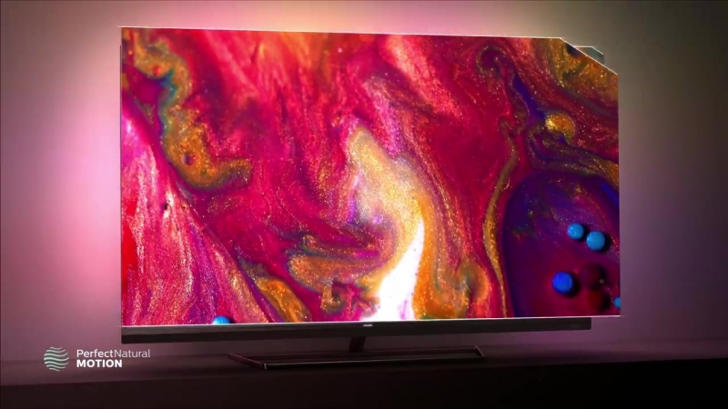Philips 7502 series- 4K Ultra HD Android TV with Ambilight and visible sound