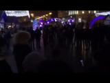 Лезгинка в новогоднюю ночь на центральной площади Белгорода