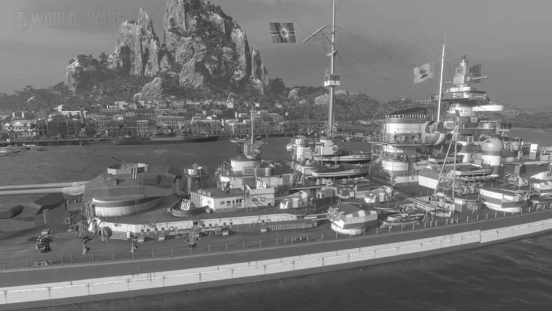 World of Warships   Cesta k Duke of York   bitva u severního mysu