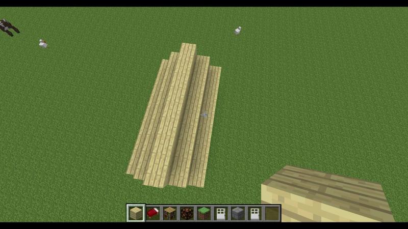 Как строить крышу для Коли