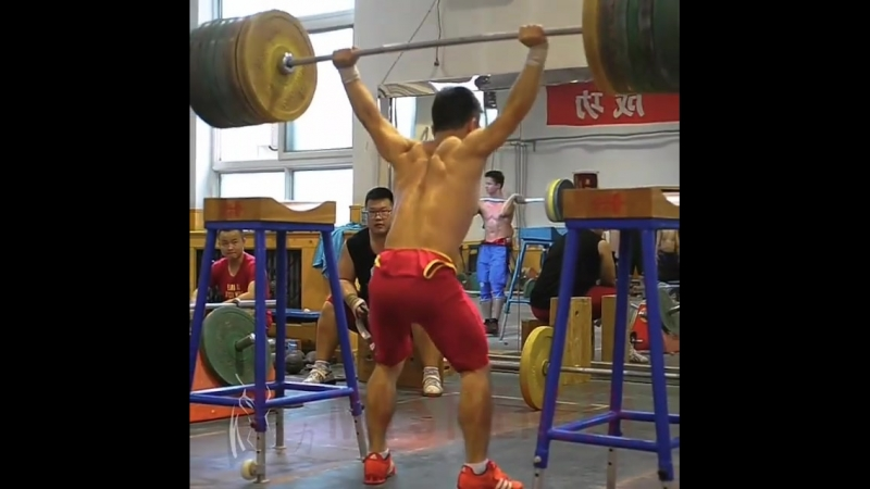 Chinese Overhead Squat