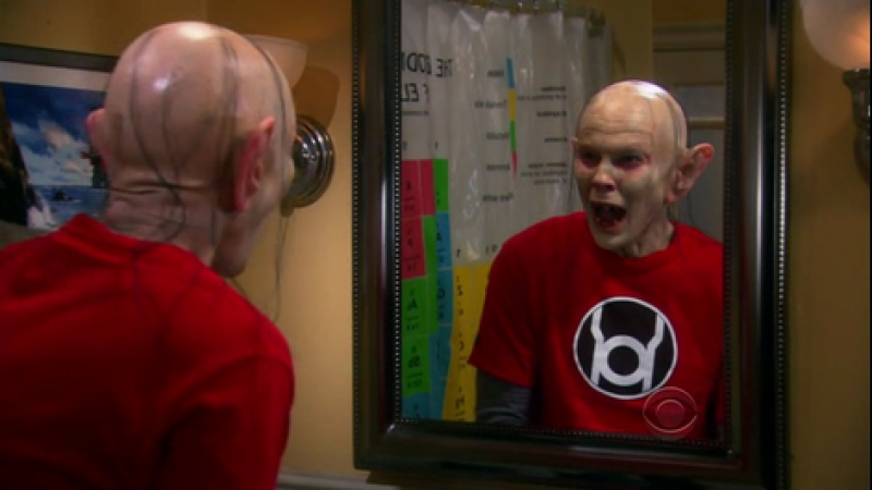 The Big Bang Theory -Sheldon turns Gollum with The Ring