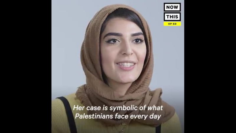 Ahed Tamimi est un prisonnier de guerre âgé de 16 ans. Elle doit être libérée. »- Cette militante se bat pour l'adolescente pale