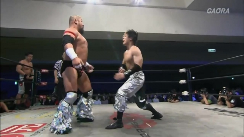 Naruki Doi, Masato Yoshino, Jason Lee (c) vs. Shingo Takagi, Yasushi Kanda, Takashi Yoshida (Dragon Gate Kotoka - Road to Final)