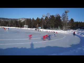 Гонка 1500 м. 04.02.2018 Первенство Красноярского края