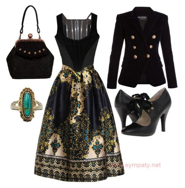 7cdbce38485 Мода. Стиль. Викторианский стиль нынче в тренде ...