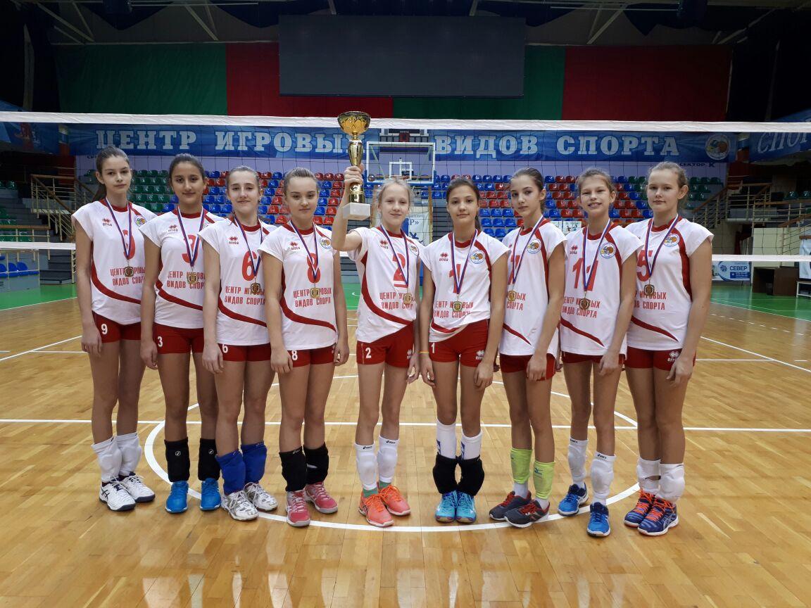 Команда Центра игровых видов спорта