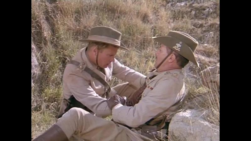 Опаленный берег (1991). Разгром бурами британского отряда. Первая мировая война.