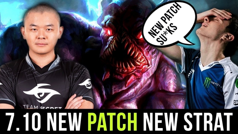 [hOlyhexOr] Miracle New 7.10 Patch Strat Nighstalker Mid?! vs Midone Ember Spirit - Dota 2