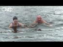 В Витебске провели показательный заплыв накануне старта очередных соревнований