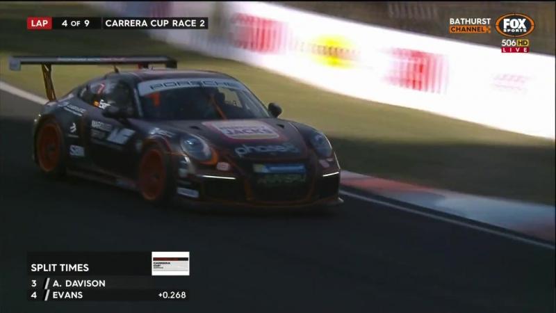Porsche Carrera Cup Australia - 2017 - Round 7 - Bathurst - Race 2