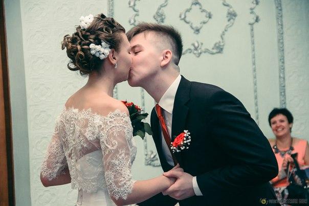 Традиционный поцелуй