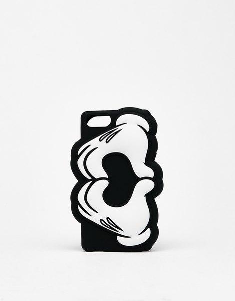 Чехол «Микки сложил руки в форме сердца» для iPhone 6/6s/7