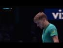 Теннис. ATP. Лондон. Хард Димитров Григор - Гоффин Давид 2:1 (7:5, 4:6, 6:3)