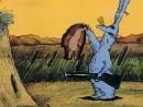 ☭☭☭ Советский мультфильм Коробка с карандашами, Зайца не видали и Кубик Рубик клоунада 1986