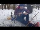 Снег по пояс первый выход 2018 на реку со спининогом тест драйв снастей профи набор посиделки в ельнике под треск веток